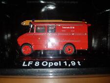 LF 8 Opel 1,9t Fire Brigade Red - Die Cast 1:72 - DeAgostini New in Blister Box