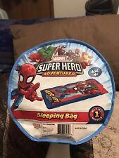 Marvels Super Hero Adventures Spiderman Sleeping Bag