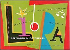 Libra September 24 - October 23 Sign of the Zodiac Modern Rack Postcard