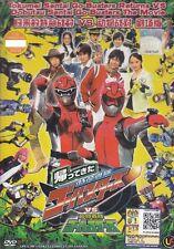 Tokumel Sental Go-Busters Returns VS Dobutsu Sental Go-Busters The Movie DVD R0