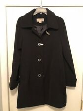 Michael Kors Trench Coat Size SMALL BLACK Only Worn a Couple of Times