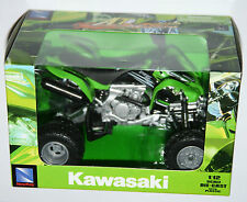 NewRay - ATV KAWASAKI KFX 450R QUAD BIKE (Green) - Model Scale 1:12
