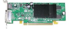 SFF DELL k4525/0k4525 ATI Radeon x300 DVI PCIE 64mb se TV & Adattatore DVI a VGA