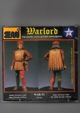 EMI WARLORD WAR-52 - DUCA ERCOLE I D'ESTE, FERRARA 1482 - 54mm WHITE METAL