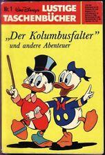 Walt Disneys Lustige Taschenbücher Nr.1 von 1977 Der Kolumbusfalter - Z1-2