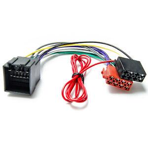 Auto Radio Adapter Kabel passend für Ford Focus Fiesta Transit ab 2018 Autoradio