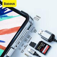 Baseus 6in1 USB C HUB to 4K HDMI USB 3.0 60W TF/SD Adapter for iPad Pro MacBook
