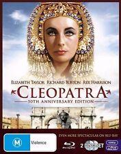 CLEOPATRA Elizabeth Taylor DVD All Zone - NEW