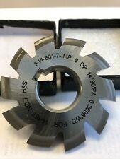Involute Gear Cutter 8dp 145pa 7