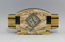 Kamin-Uhr Art déco um 1930 Steingehäuse 99820033