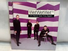Wet Wet Wet If I Never See You Again CD (PROMO Single)