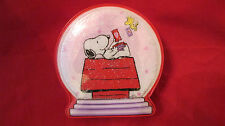 PEANUTS SNOOPY &  WOODSTOCK  VALENTINES CANDY BOX  WITH CANDY  COLLECTOR ITEM