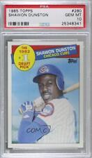 1985 Topps Shawon Dunston #280 PSA 10 Rookie