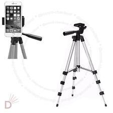 New Aluminum Tripod Stand Holder For Digital Camera SLR Smart Phones Mobile UKDC