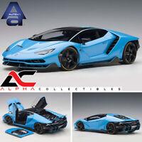 AUTOART 79113 1:18 LAMBORGHINI CENTENARIO (BLU CEPHEUS/PEARL BLUE) SUPERCAR