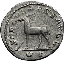 PHILIP I the ARAB 248AD 1000 Years of Rome Colosseum ANTELOPE Roman Coin i60059