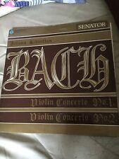 J.S.Bach Pasdeloup Concert Assn Orch., Henryk Szeryng, Violin Concerto 1&2 LP