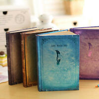 Vintage The Vampire Diaries Notebook Diary Journal Schedule Planner NotePad Memo