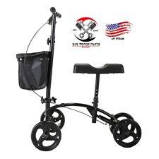 Mobility Scooter Knee Walker Roller Foldable Soft Pad Brake A1