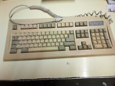 Vintage PC AT / XT 5 Pin DIN Mechanical clavier Keyboard tested, working.