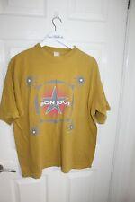 More details for bon jovi 1996 world tour band t shirt vintage rare volkswagen presents xl rock