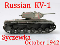 Easy Model 1/72 Russian Army KV-1 Heavy Tank Syczewka, October 1942 #36292