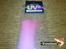 Pink Spirit River Uv2 Super Hair - Streamer Fly Tying Flash Materials