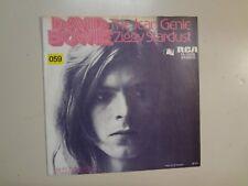 """DAVID BOWIE:Jean Genie-Ziggy Stardust-Germany 7"""" 73 RCA 74-16238 w/Withdrawn PSL"""