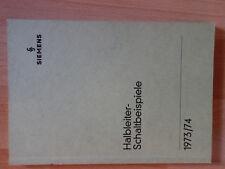 Halbleiter Schaltbeispiele Siemens  München, 1973/74 Elektrotechnik 176 Seiten
