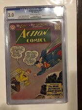 ACTION COMICS #253 CGC 3.0 SECOND APPEARANCE OF SUPERGIRL
