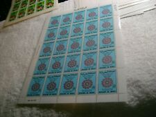 MOROCCO-(-1787-1987-)-200 years of Friendship with United States-FULL SHEET-MNH