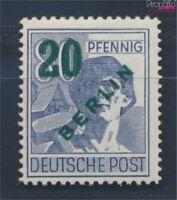 Berlin (West) 66 postfrisch 1949 Grünaufdruck (8716968