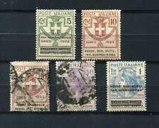 Regno Vittorio Emanuele 3° Parastatali lotto di cinque