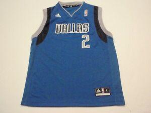 Jason Kidd Dallas Mavericks Adidas NBA Jersey #2 Size Youth Large (14-16)