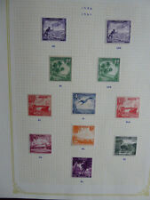 Mint Hinged Elizabeth II (1952-Now) Nauru Stamps (Pre-1968)