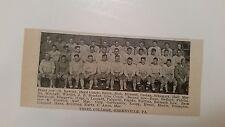 Thiel College PA & St. Francis College Loretto PA 1929 Football Team Picture