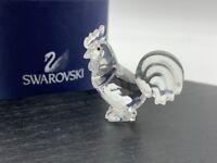 Figurine Swarovski 625189 Zodiaque Coq 3,5 Cm. Avec Emballage Et Certificat