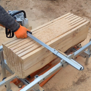 UWWS Portable Saw mill Planking Coins Wood Slabs   Lumber Milling Full video