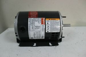 Dayton 1/3 HP Belt Drive Motor Split-Phase 1725 RPM 115/208-230 Frame 48Y New