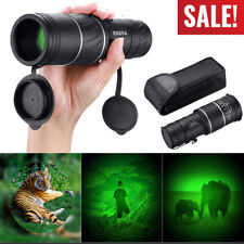 Day&Night Vision 40X60 Hd Optical Monocular Hunting Camping Hiking Telescope New