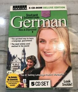 Topics Learn German Deluxe Edition Instant Immersion Euro Method 5 CD Set