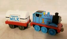 Thomas Take Along N Play Diecast Thomas Himself and Milk Tanker Good condition