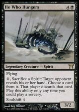 MTG 1x HE WHO HUNGERS - CoK *Rare Legend Fly FOIL NM*