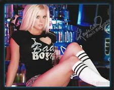 KAYLA COLLINS 08/2008 PLAYBOY PLAYMATE SEXY SIGNED PHOTO  (IN1)