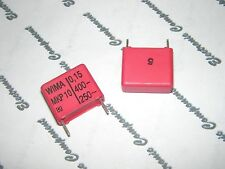 10pcs - WIMA Capacitor MKP10 0.15uF (0.15µF 150nF) 400V 5% pitch:15mm