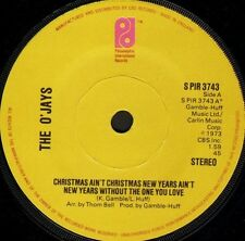 "O'JAYS christmas ain't christmas new years aint without the one you love 7"" WS"