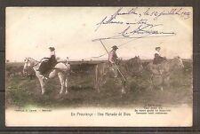 CPA CARTE POSTALE CARD FRANCE FRANKREICH UNO MANADO DE BIOU 1907