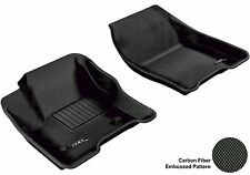MAXpider 3D Molded BLACK Textured Front Floor Mats Pair All Weather L1FR05611509