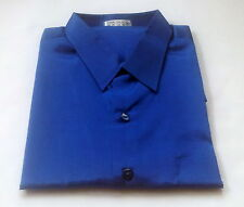 Mens Thai Silk Casual Dress Shirts / S-XXXL /23 Colours / 6 Sizes / Long Sleeve