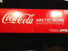 "12-Pack Can American Coke ""White"" Coca-Cola Save Polar Bear Issue 2011 USA"